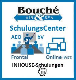 Logo Inhouse-Schulung im SchulungsCenter der Bouché Air & Sea GmbH