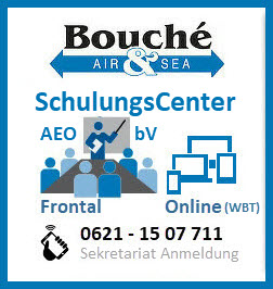 Bild Grafik zu Bouché Air & Sea GmbH, AEO & bV SchulungsCenter | Telefon: 0621 - 15 07 711