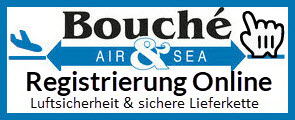 Logo Bouché Air & Sea GmbH: Registrierung Online