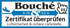 Logo Bouché Air & Sea GmbH: Zertifikat überprüfen