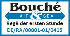Bild: Bouché Air & Sea: RegB der ersten Stunde mit der Zulassungsnummer DE/RA/00801-01/0415