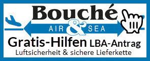 Logo Bouché Air & Sea GmbH Unternehmensberatung | LBA-Zertifizierung für Newcomer und zwei Gratis-Hilfen