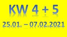3. Wochenbericht 2021 (25.01. - 07.02.2021)