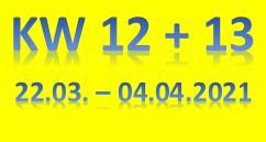 7. Wochenbericht 2021 (22.03. - 04.04.2021)