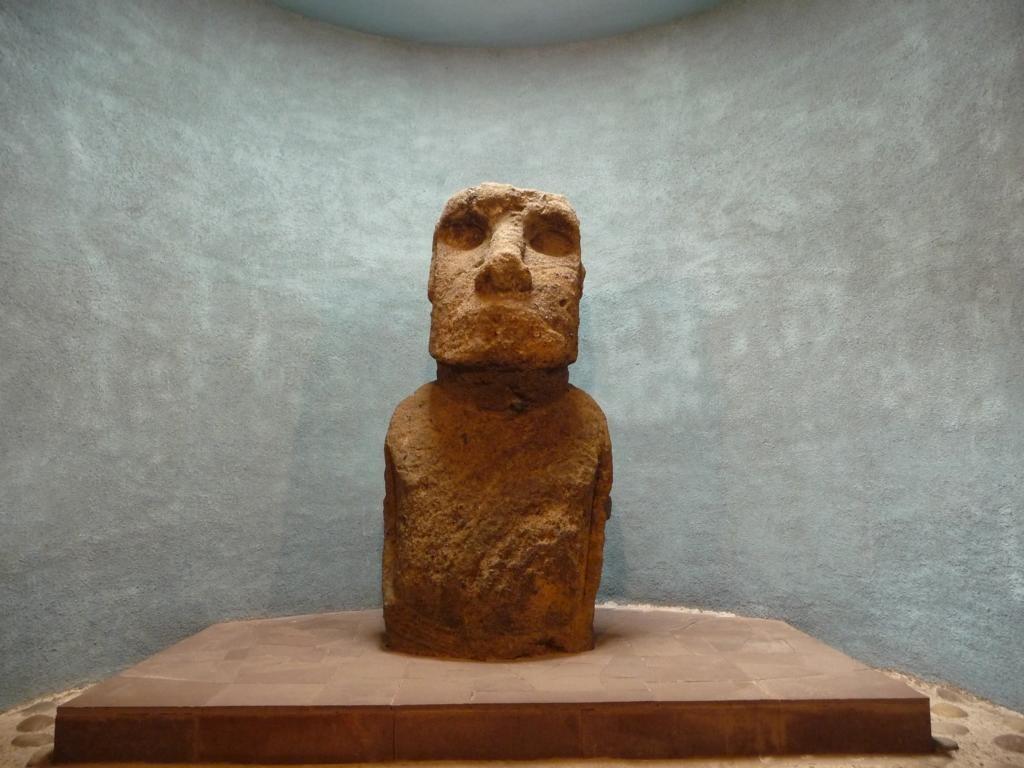 Original Statue von den Osterinseln