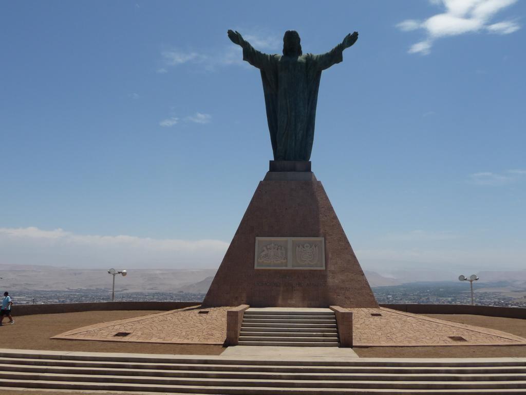 Denkmal auf dem Morro