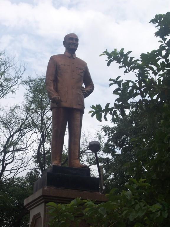 Chiang Kai-shek Denkmal (wir sind aber nicht in der Rep. China)