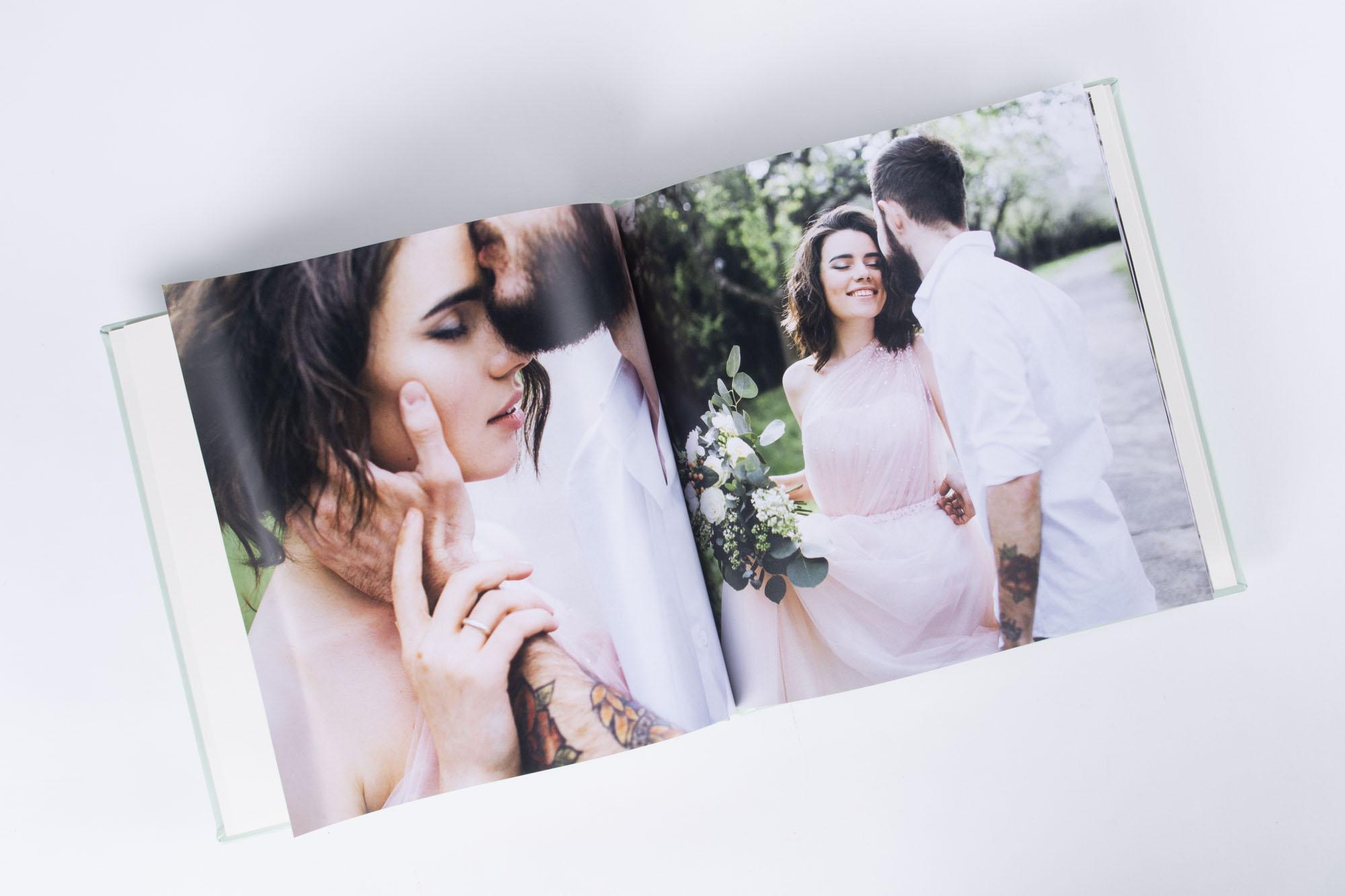Eure Lieblingsbilder Formatfüllend in eurem Hochzeitsalbum