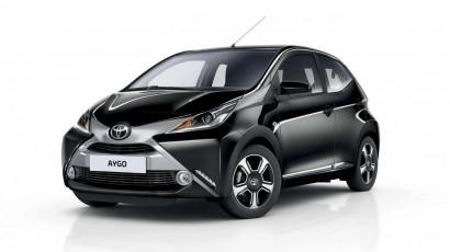 Toyota Aygo 4 personen Euro 95