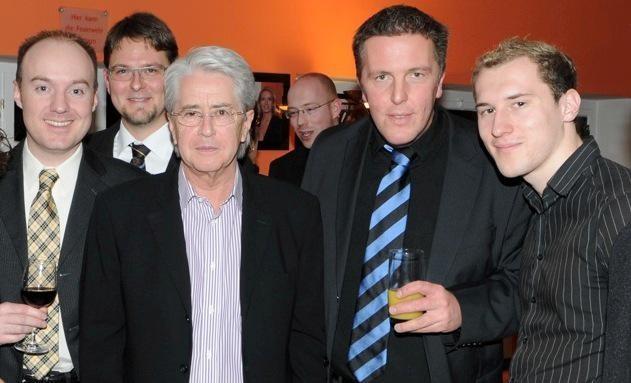 Dominik Kollmann mit Alexander Tauscher & Frank Elstner