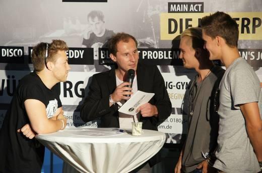 Dominik Kollmann mit den Killerpilzen