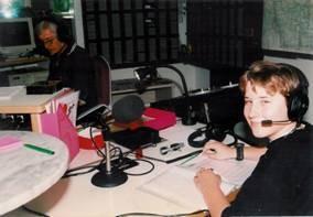 Dominik Kollmann bei Radio Chiemgau