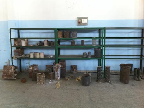 Différentes tailles de cylindres possibles.