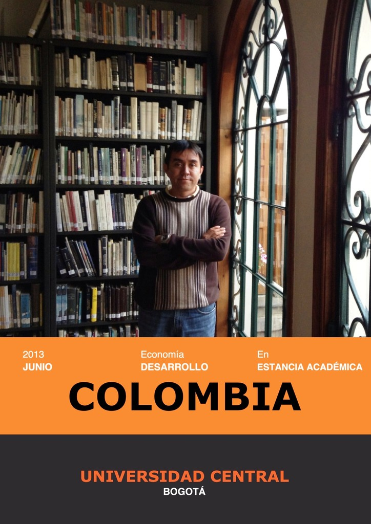 Estancia de investigación, Bogotá 2013.