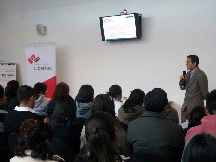 Presentación en el parque financiero Impulsa en el Estado de México, 2010.