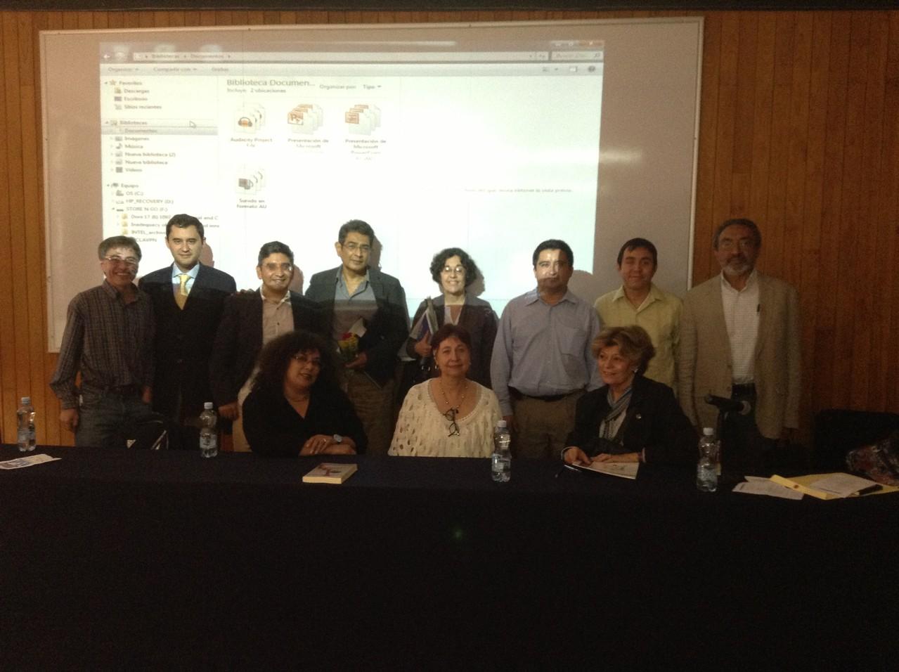 Seminario en la UNAM, 2013.