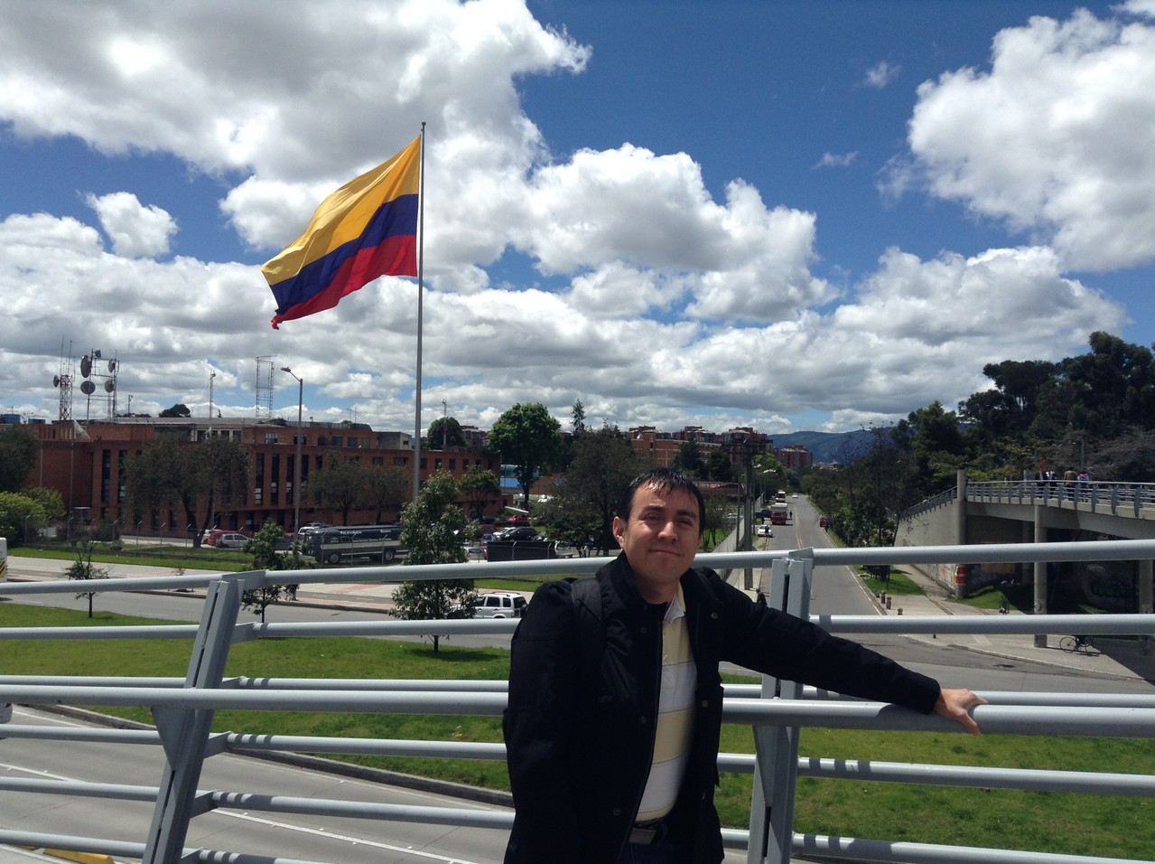 Estancia de investigación, Colombia 2013.