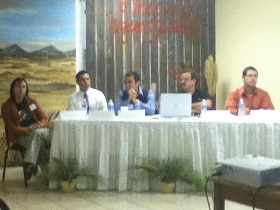 Conferencia en El Colegio de la Frontera Norte, en Ciudad Juárez, 2010