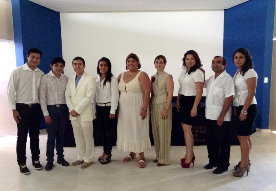 Conferencia en la Facultad de Economía de Yucatán, 2013.