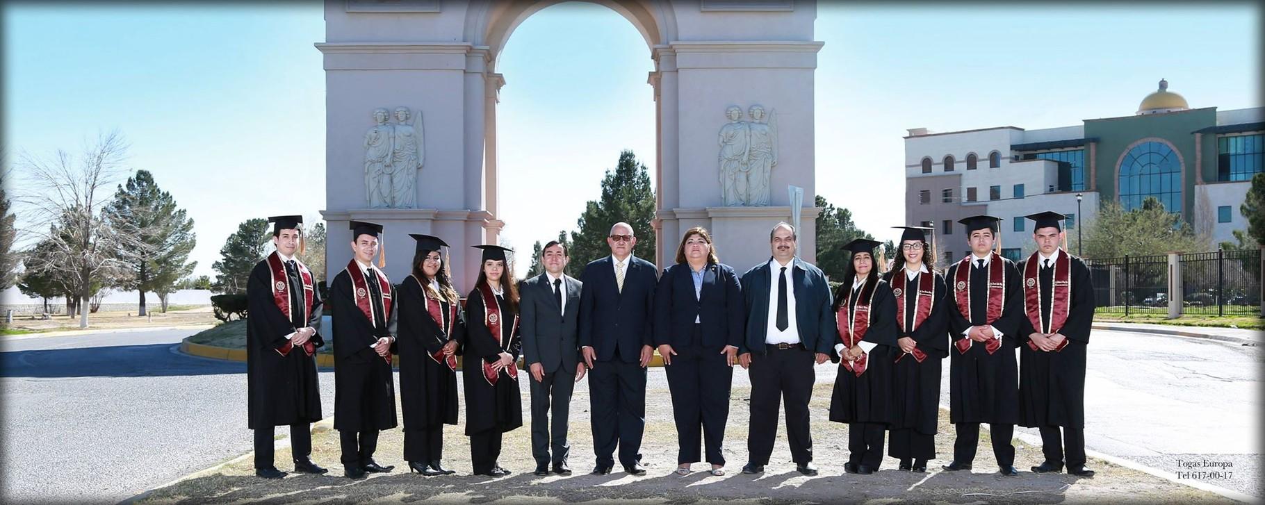 Graduados de la Licenciatura en Economía de la UACJ, 2015.