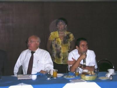 Conferencia para los medios de comunicación en Oaxaca, 2010