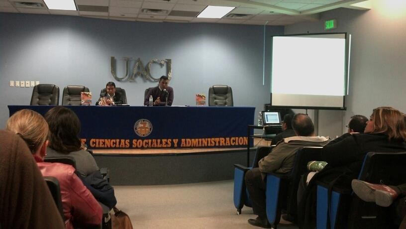 Presentación de libro del Profesor Mario Mendoza, 2013.