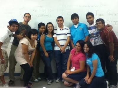 Reunión informativa con chavales del club rotario de Ciudad Juárez, 2011