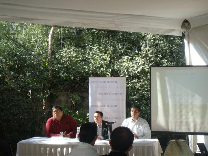 Conferencia en la fundación Naumann de la Ciudad de México, 2010