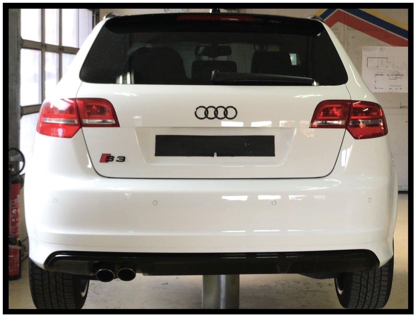 Audi Ringe Glänzend