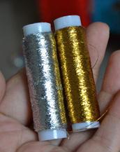 糸かけ曼荼羅の糸
