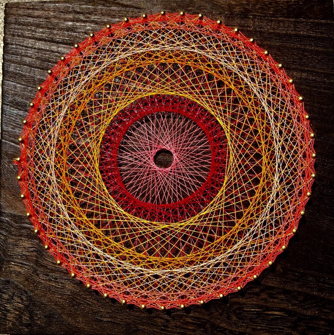 「糸かけ曼荼羅」のワークショップを開催いたします。