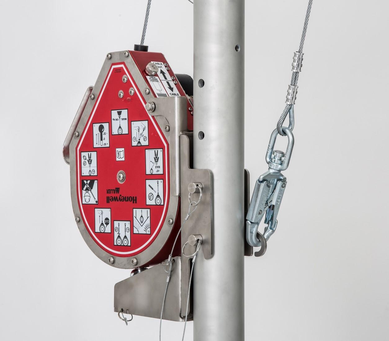 MIGHTEVAC Höhensicherungsgerät mit Rettungswinde