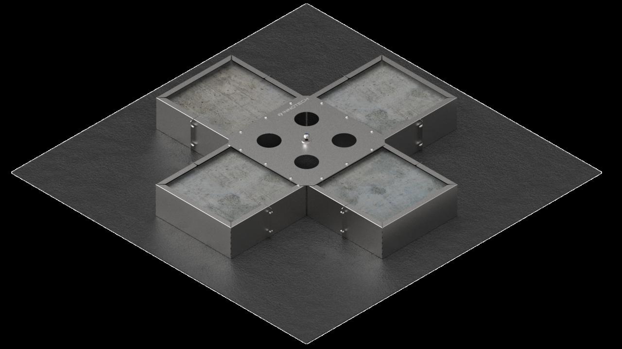 VARIO-45 MIT Befüllung (Betonplatten)