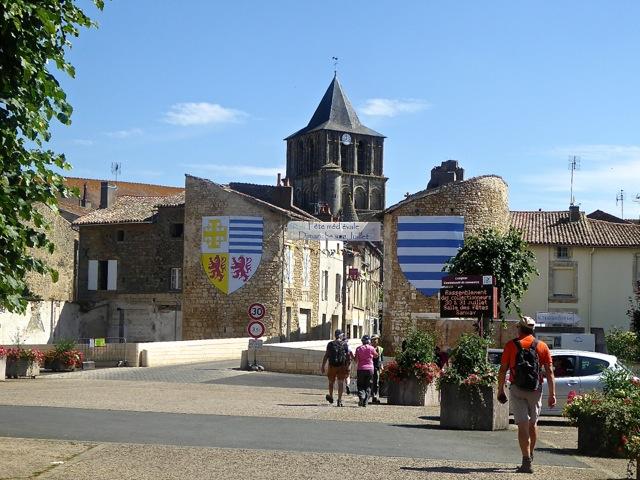 Porte d'entrée de la vieille ville