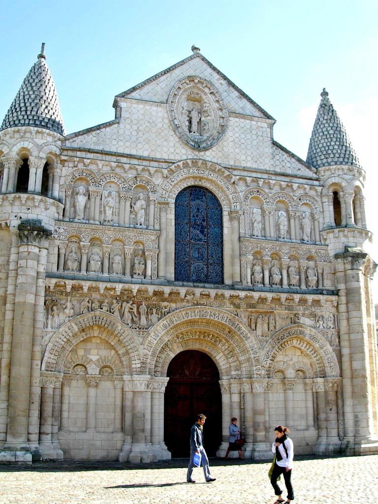 Poitiers, Notre Dame la Grande