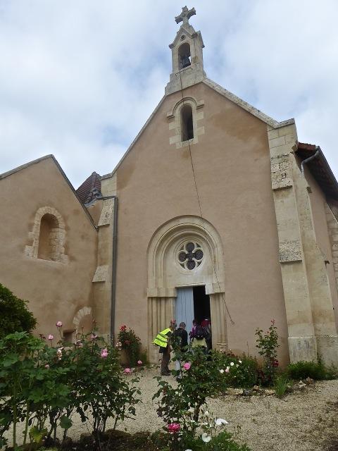 Chapelle Saint Phèle dont Saint André-Hubert Fournet,  co-fondateur des filles de la Croix, fut curé