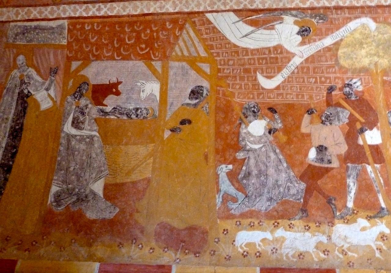 Jouhet, fresque