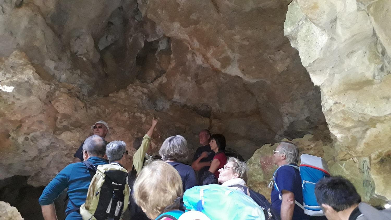 Une grotte parmi tant d'autres.