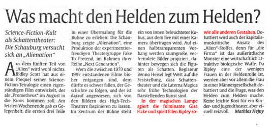 Abendzeitung München, 04.06.2012