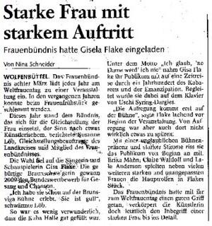 Wolfenbüttler Zeitung, 10. März 2012 / Draufklicken. es wird lesbar ;)!