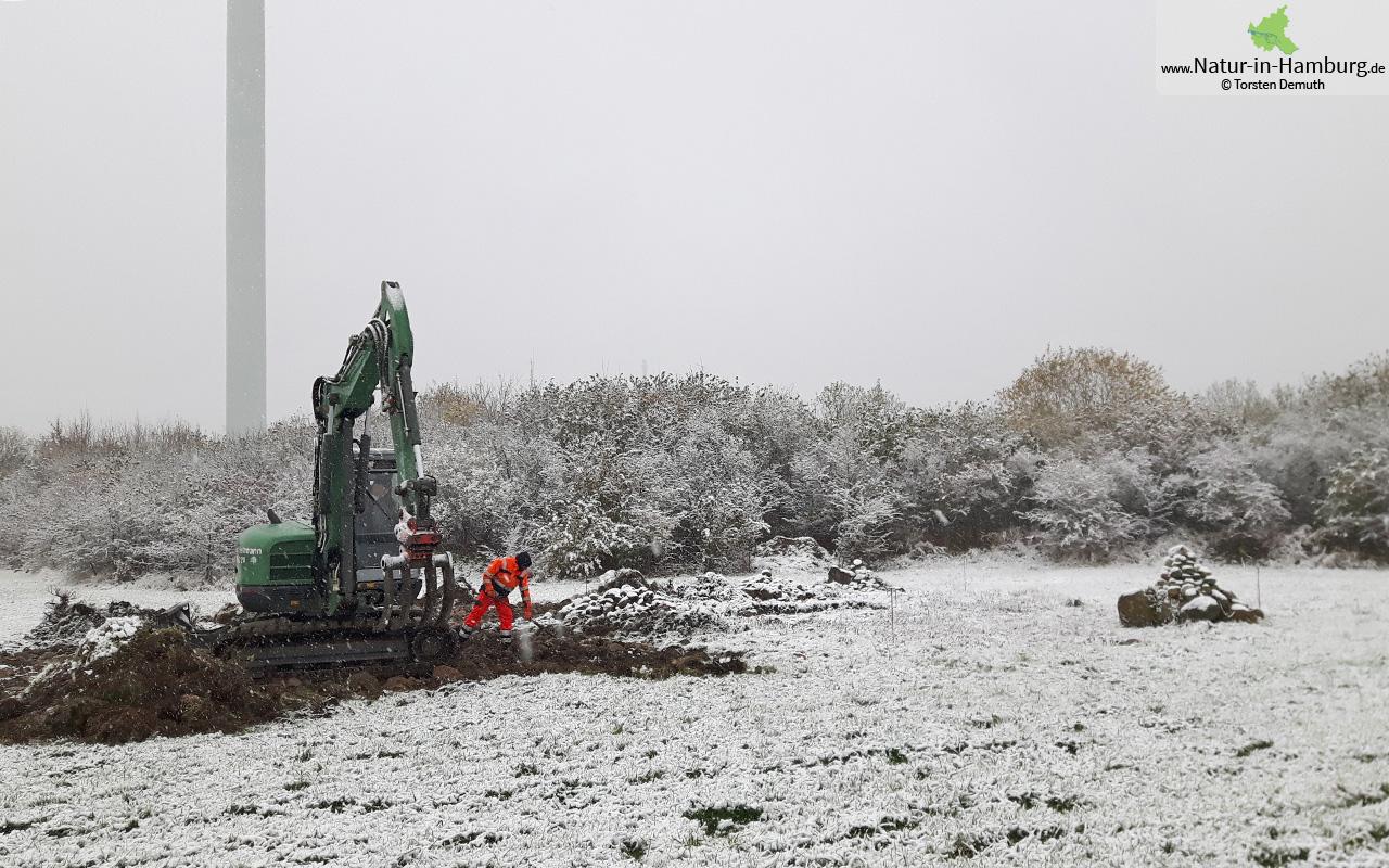 Winterliche Bedingungen am 08.11.16