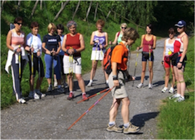Brigitte Weber Nordic Walking