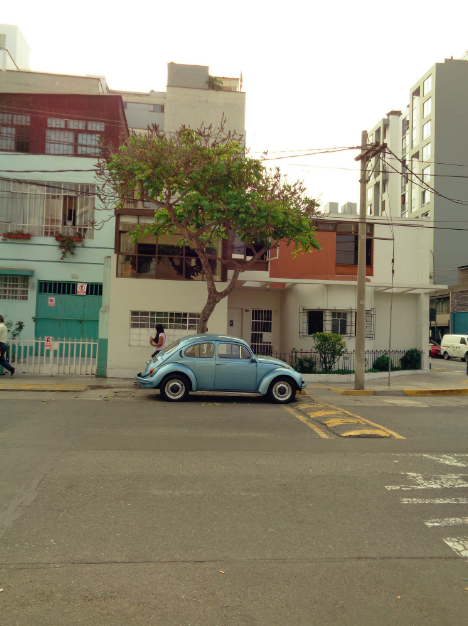In Lima sieht man überall alte Käfer