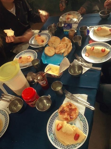 Das Frühstück war genauso lecker, wie es aussieht...