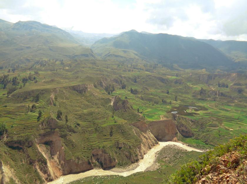 Landwirtschaft in Peru: Sie bauen Quinoa und Co. im Treppensystem