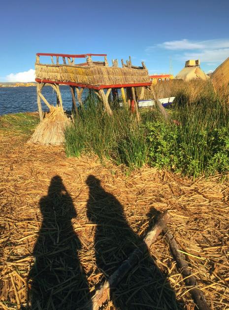 Die schwimmenden Inseln der Uros sind die Touri-Attraktion auf dem Titicacasee