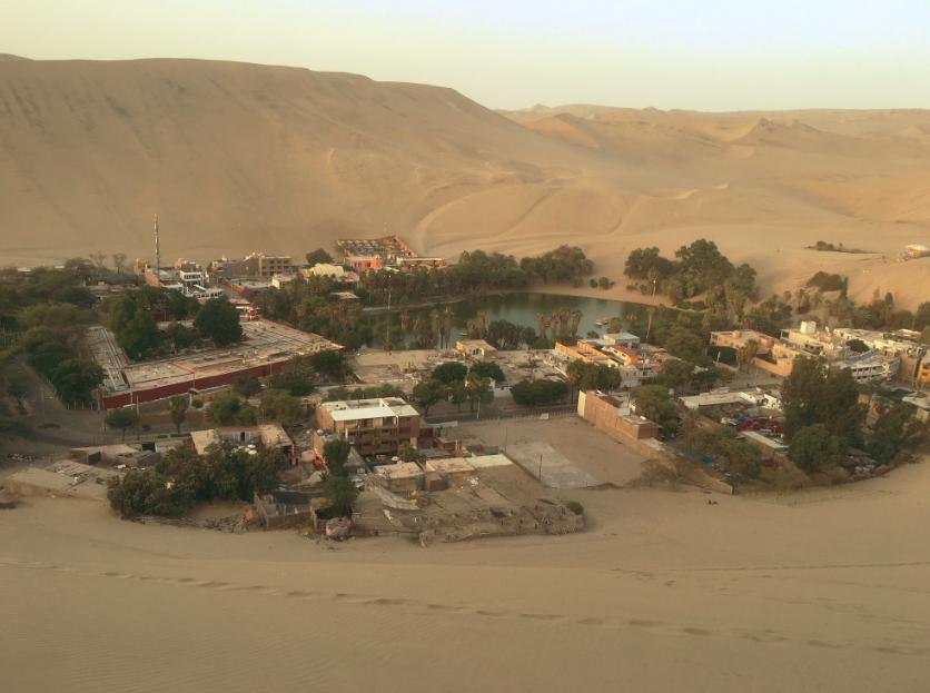 Die Wüstenoase Huacachina