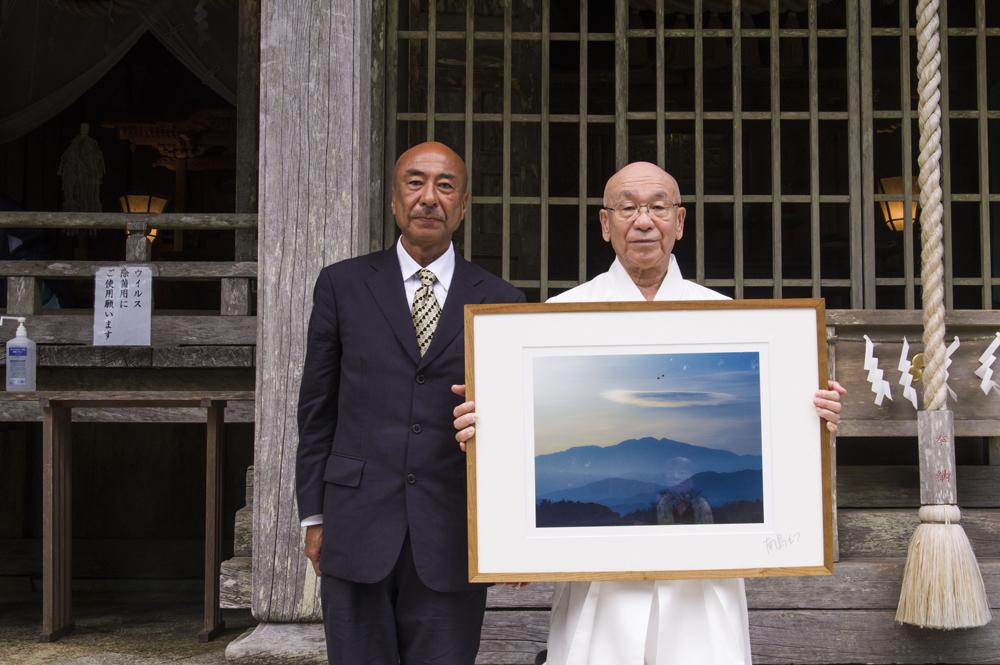 玉置神社への奉納