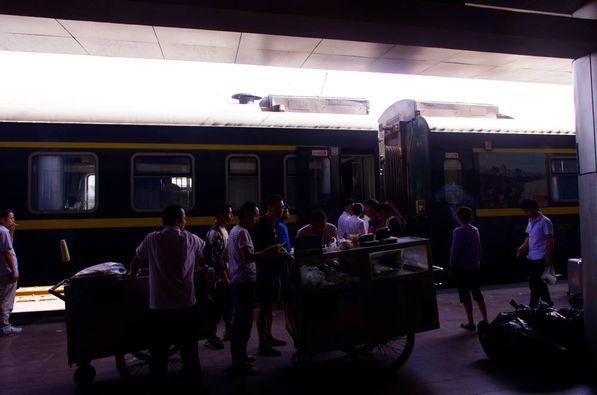 0930、無事に西安駅に到着!