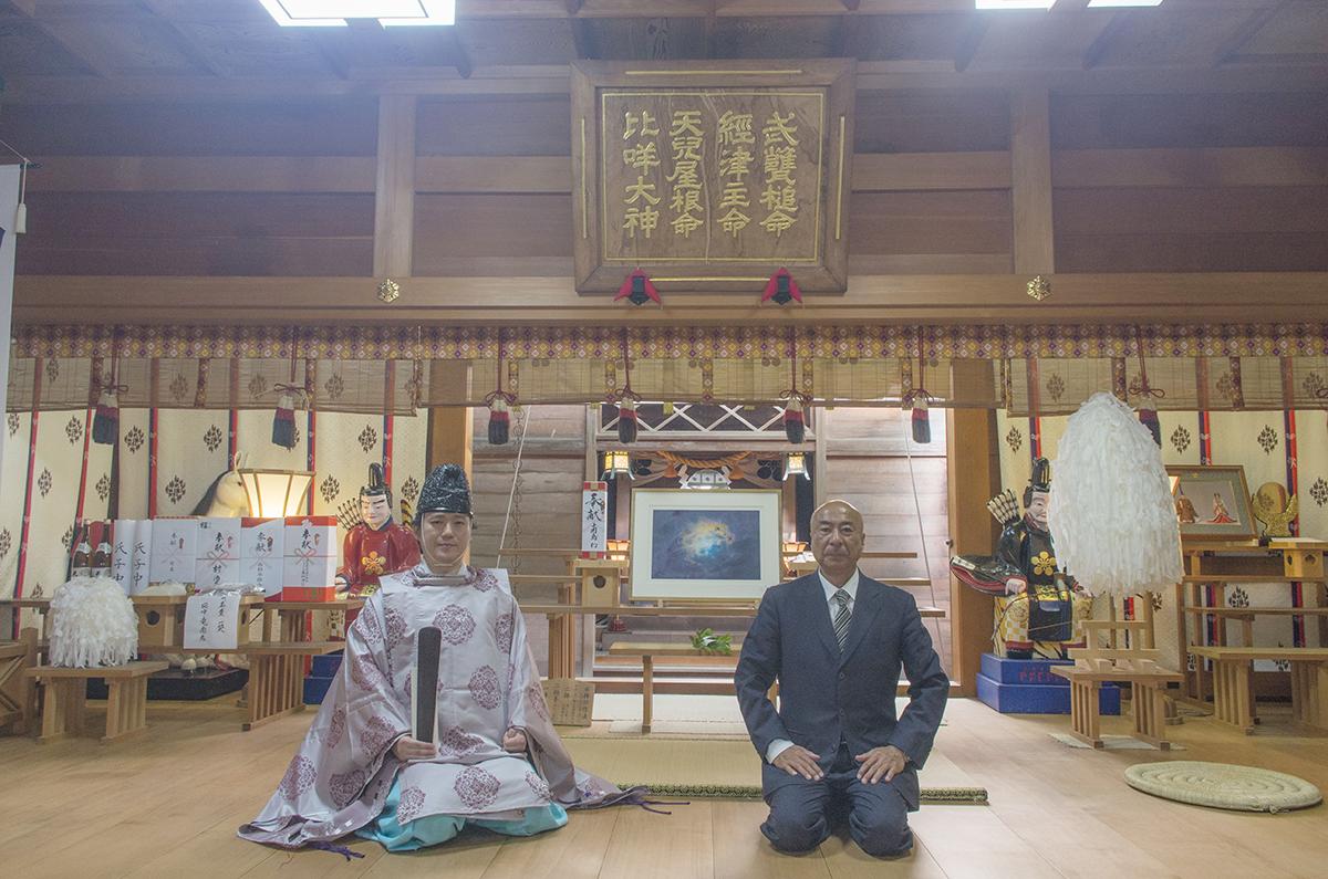 春日神社への奉納